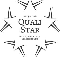 QualiStar - Auszeichnung der Berufsbildung